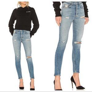 GRLFRND Karolina High-Rise Skinny Jeans in Austin
